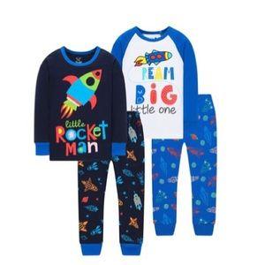 Pajamas for Boys Girls  4 Pieces Pants Set